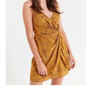 Wrap mini dress by Urban Outfitters